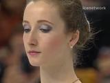 アンナ・フニチェンコワ 世界選手権2016 ショート演技 (解説:ロシア語・アメリカ英語)