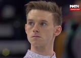 フィリップ・ハリス 世界選手権2016 ショート演技 (解説:ロシア語)