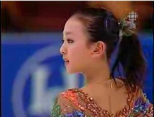 浅田真央 世界ジュニア選手権2005 フリー演技 (解説:日本語・カナダ英語)