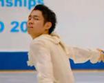 村上大介 全日本選手権2015 ショート演技 (解説:日本語)