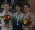 スケートカナダオータムクラシック2016 男子シングル表彰式 (解説:なし)