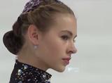 アンジェリーナ・クフワルスカ 世界選手権2016 フリー演技 (解説:ロシア語)