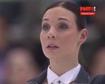 アレーナ・レオノワ ロシア選手権2015 ショート演技 (解説:ロシア語)
