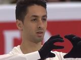 シャフィク・ベセギエ 世界選手権2016 フリー演技 (解説:ロシア語・中国語・スペイン語・スウェーデン語)