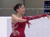 紀平梨花 JGPチェコスケート2016 ショート演技 (解説:英語)