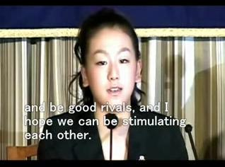 浅田真央 外国特派員協会での記者会見 (2007/4/6)