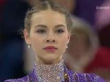アンジェリーナ・クフワルスカ 世界選手権2016 ショート演技 (解説:イギリス英語・ロシア語・アメリカ英語・スペイン語)