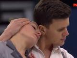 シャルレーヌ・ギニャール&マルコ・ファッブリ 世界選手権2016 フリー演技 (解説:ロシア語・イタリア語・アメリカ英語・中国語)