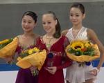 JGPブラオエン・シュベルター杯2016 女子シングル表彰式 (解説:なし)