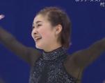 村上佳菜子 全日本選手権2015 ショート演技 (解説:日本語)