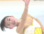 紀平梨花 全日本ジュニア選手権2015 フリー演技 (解説:日本語)