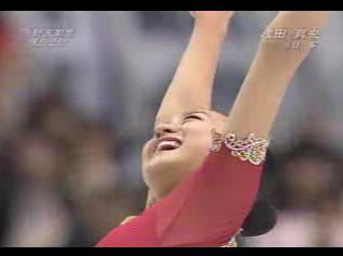 浅田真央 世界選手権2007 フリー演技 (解説:日本語・アメリカ英語・フランス語・カナダ英語・イギリス英語・ドイツ語)