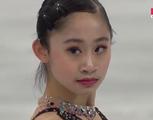 エイミー・リン 世界選手権2016 フリー演技 (解説:ロシア語・中国語・スウェーデン語)