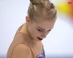 ヴィヴェカ・リンドフォース 欧州選手権2016 フリー演技 (解説:ロシア語・イギリス英語・スペイン語)