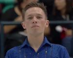 グラント・ホッホスタイン スケートカナダ2016 ショート演技 (解説:ロシア語)