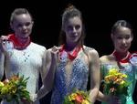 スケートアメリカ2016 女子シングル表彰式 (解説:なし)