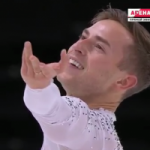 アダム・リッポン フランス杯2016 フリー演技 (解説:ロシア語)