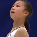 李香凝[リ・コウギョウ] 中国杯2016 フリー演技 (解説:ロシア語)