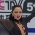エリザベータ・トゥクタミシェワ 中国杯2016 フリー演技 (解説:イギリス英語・ロシア語・中国語・カナダ英語・アメリカ英語)