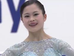 宮原知子 NHK杯2016 ショート