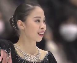 松田悠良 NHK杯2016 ショート