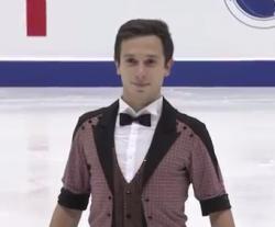 オレクシイ・ビチェンコ NHK杯2016 ショート