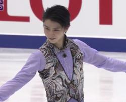 羽生結弦 NHK杯2016 ショート