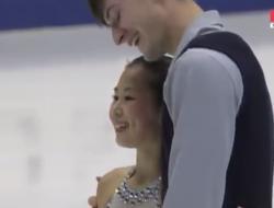 須藤澄玲&フランシス・ブードロー=オデ NHK杯2016 フリー