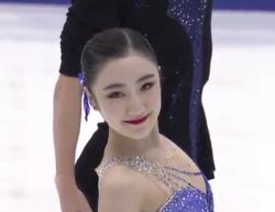 王雪涵[オウ・セッカン]&王磊[オウ・ライ] NHK杯2016 フリー