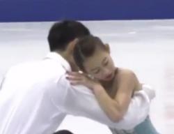 彭程[ホウ・テイ]&金楊[キン・ヨウ] NHK杯2016 フリー