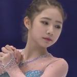 チェ・ダビン NHK杯2016 フリー演技 (解説:ロシア語・イギリス英語)
