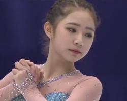 チェ・ダビン NHK杯2016 フリー