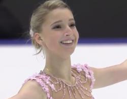 マリア・ソツコワ NHK杯2016 フリー