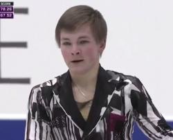 ミハイル・コリヤダ NHK杯2016 フリー