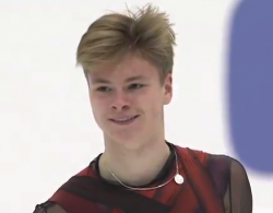 デニス・ヴァシリエフス NHK杯2016 フリー