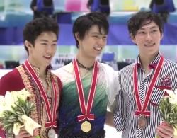 NHK杯2016 男子シングル表彰式  (解説:なし)