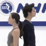 テッサ・バーチュー&スコット・モイア NHK杯2016 フリー演技 (解説:カナダ英語・イギリス英語)