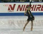 エレーネ・ゲテバニシビリ NHK杯2007 ショート演技 (解説:日本語)