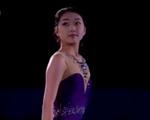 李子君[リ・シクン] 四大陸選手権2015 エキシビション演技 (解説:中国語)