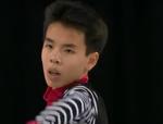 ナム・グエン スケートアメリカ2014 フリー演技 (解説:アメリカ英語・ロシア語)