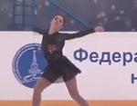 アデリーナ・ソトニコワ モルドヴィアン・オーナメント2015 フリー演技 (解説:なし)