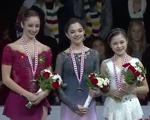 スケートカナダ2016 女子シングル表彰式 (解説:なし)
