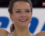 ロベルタ・ロデギエーロ スケートアメリカ2016 フリー演技 (解説:ロシア語)