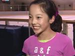 4回転に挑戦!12歳・本田真凜の夏に密着 (2014/7/31)