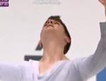 ジョシュア・ファリス 四大陸選手権2014 フリー演技 (解説:ウクライナ語)