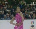 長洲未来 全米選手権2008 ショート演技 (解説:アメリカ英語)