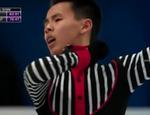 ナム・グエン 四大陸選手権2015 フリー演技 (解説:なし)