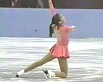 ミシェル・クワン 全米選手権1993 フリー演技 (解説なし)
