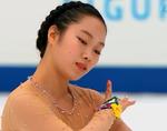 加藤利緒菜 全日本選手権2014 ショート演技 (解説:日本語)