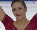ケイトリン・オズモンド スケートカナダ2016 フリー演技 (解説:イギリス英語・ロシア)